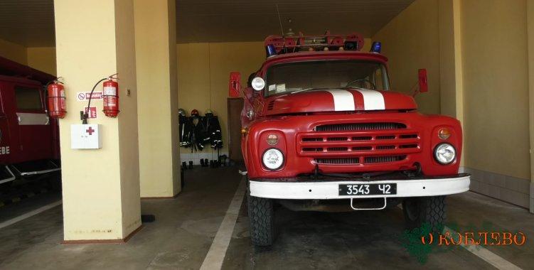 В Коблево горел домик охранника у одной из баз отдыха (фото)